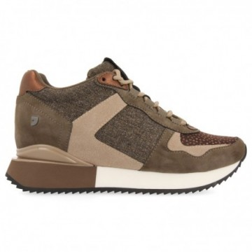 SNEAKERS TAUPE AVEC...